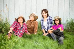 Nita, Nancy, Irene, Nining