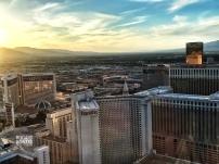 Vegas before sunset